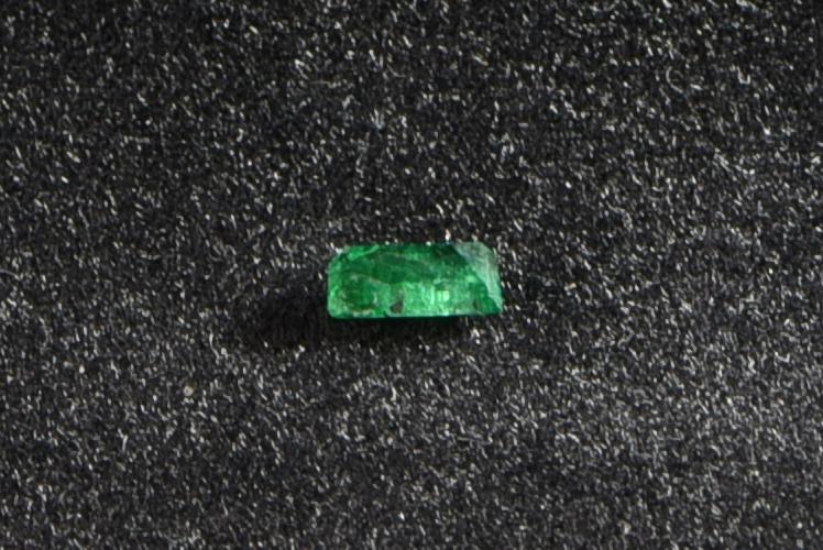 facettierter Smaragd